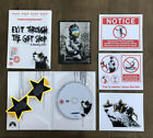 Banksy Exit Through The Gift Shop DVD Inc Stickers  Glasses Rare Street Art