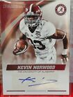 KEVIN NORWOOD 2015 PANINI COLLEGIATE ALABAMA CRIMSON TIDE BLUE INK AUTOGRAPH SP!