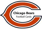 You Pick Your Cards -  Chicago Bears Team - NFL Football Card Selection