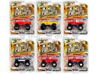 KINGS OF CRUNCH SERIES 8 SET OF 6 MONSTER TRUCKS 1 64 DIECAST GREENLIGHT 49080