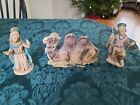Mary Joseph And Camel Vintage Fontanini Nativity