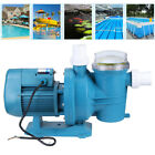 750W 1HP Electric Pool Tank Filter Pump Water Cleaning Tool Above Ground Pool