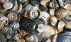 Vintage Marbled Buttons Mixed Sorts Big Lot Over 11oz