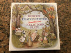 Beswick Beatrix Potter Hand PaintedCollector's Plate 1979 First Edition MINT