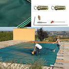 Swimming Pool Cover 16X32 FT W Center Step Rectangular Safety Green Winter