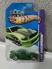 Hot wheels 2007 ford mustang super treasure huntbottom card has little bent