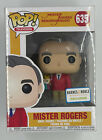 🔥 Funko Pop 635 Mister Rogers Mr. Rogers Neighborhood Television Exclusive🔥