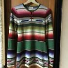 HYSTERICS HYSTERIC GLAMOUR knit shirt Sweater tops native multicolor size M