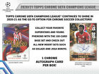 2020-21 Topps UEFA Champions League Chrome Hobby Box Sealed Pre-sale BRAND NEW