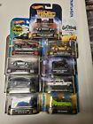 1 64 Hot Wheels Retro Entertainment Lot of 9