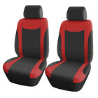 Set Of 2 Front Bucket Seat Covers Strong Stretchy For Most Car Truck Suv Sedan
