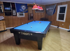Diamond PRO AM Pool Table 8 Foot Black