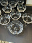 Waterford Crystal LISMORE 4 1 8 Champagne Sherbet Saucer Stem Glass Eleven