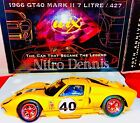 NHRA Wix Collectibles 1966 Ford GT40 Mark II 7 Litre 427 124 Diecast 40th Ann
