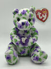 BRAND NEW 2003 TY Beanie Baby-Corsage the Bear Holding Flower Bouquet Retired