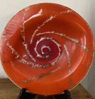 Stunning REVITAGLASS Art Glass Bowl Hand Crafted Aotearoa New Zealand 12
