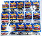Hot Wheels Japanese Cards  LOT of 15 Unopened Celica Porsche Olds Chevy +
