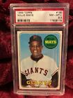 Vintage Willie Mays Baseball Card Timeline: 1951-1974 98