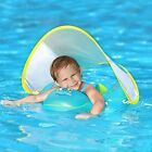 Swimbobo Baby Swimming Float Inflatable Infant Pool Ring With Sun Protection For