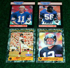 Terry Bradshaw Mike Ditka Lawrence Taylor Phil Simms 1989 Starting Lineup Cards