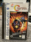 Contra Legacy Of War Sega Saturn No Glasses Good Condition
