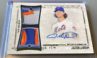 JACOB DEGROM 2015 Topps Museum Dual Patch AUTO SSP 5 🔥 CY YOUNG Autograph!