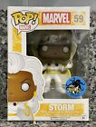 NEW FUNKO POP! MARVEL X-MEN #59 STORM COMIKAZE EXCLUSIVE BOBBLEHEAD BOX DAMAGE