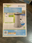 Intex 28637EG 1000 GPH Easy Set Above Ground Swimming Pool Filter Pump System