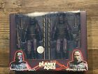 NECA PLANET OF THE APES INFANTRY 2- PACK GORILLA SOLDIERS 7
