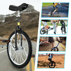 20 Unicycle Cycling Circus Bike Skidproof Youth Adult Balance Exercise Black