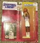 1994 Derrick Coleman New Jersey Net Starting Lineup figure sealed cracked bubble