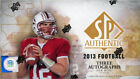 2013 Upper Deck SP Authentic Hobby Box with (24) Packs