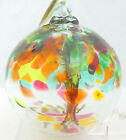 KITRAS Tree of Enchantment SISTERS 6 Large Art Glass Ornament Ball NWT