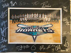 Charlotte Hornete Tewm Picture Signed Patrick Ewing, Kemba Walker , Jeremy Lin