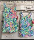 NWT Lilly Pulitzer GIRLS Little Lilly Swimsuit Bennet Blue Surf Gypsea Swim 8