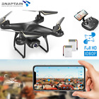 SNAPTAIN Full HD 1080P Camera Drone Voice  Gravity Control iOS Android Remote