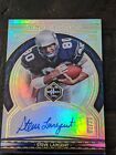 Steve Largent Seahawks 2020 Panini Limited 01 23 Ring of Honor On-Card Autograph