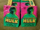 (1) ONE PACK - 1979 TOPPS THE INCREDIBLE HULK TRADING CARDS TV SHOW - NO GUM