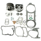 57mm Bore Engine Rebuild Kit Cylinder Head For 125cc 150cc Gy6 Scooter