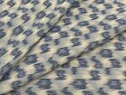 Kravet Woven Ikat Spots Upholstery Fabric Parrish Indigo BY THE YARD BTY