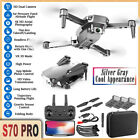 S70PRO Drone WIFI 4K HD Dual Camera Height Keep Foldable FPV RC Quadcopter 2021