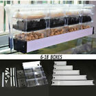 13 39ft Clear Black Upper Aquarium Trickle Box Filter System Pump Set 16 79Gal