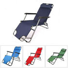 New Foldable Reclining Patio Chaise Lounge Chair Pool Lawn IndoorOutdoor Beach