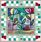 Garden Path Quilt Kit 50 x 50 by Quilting Treasures