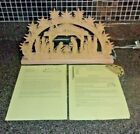 Ratags Holzdesign Lighted Nativity Scene Made in Germany