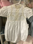 Chapin Heirloom Co French Lace Boys 18 Mos Bubble NWT
