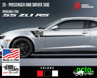Fits Chevrolet Camaro zl1 RS SS Convertible sides X2 doors decal sticker stripes