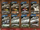 Hot Wheels Mattel 2013  2014 Fast  Furious Complete Sets of 8 each FREE Ship
