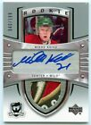 Mikko Koivu Iconic 2005-06 Upper Deck The Cup Auto Wild Logo Patch RC 40 199!