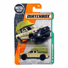 Matchbox 16 Toyota Tacoma with Tent MBX Explorers Die Cast Cracked Blister